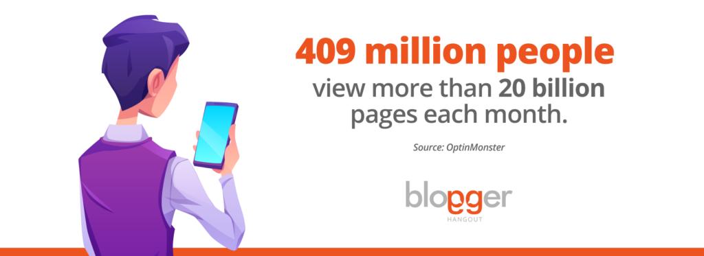page views statistics
