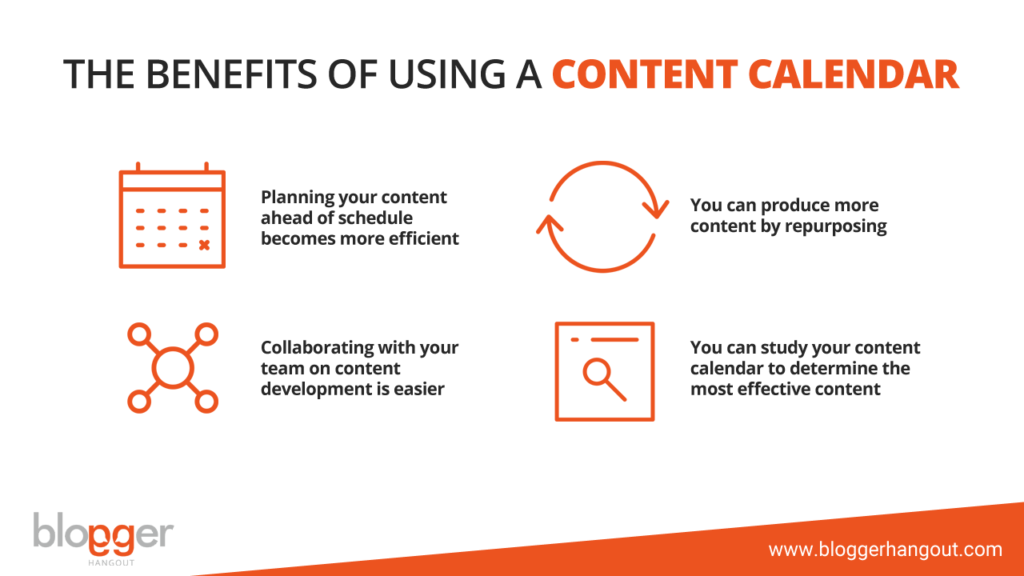 The Benefits of Using A Content Calendar