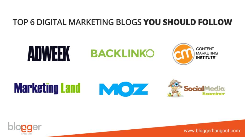 top 6 digital marketing blogs